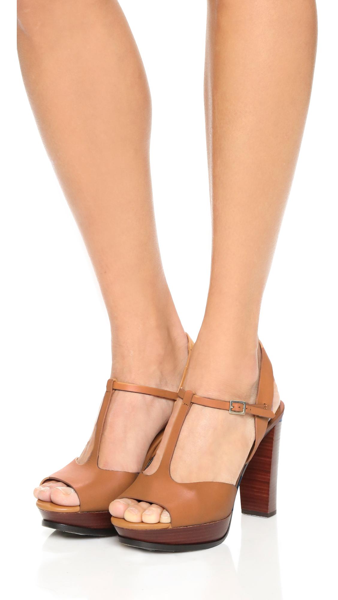 57f8db26bec0 Lyst - See By Chloé Alex Platform Sandals in Brown