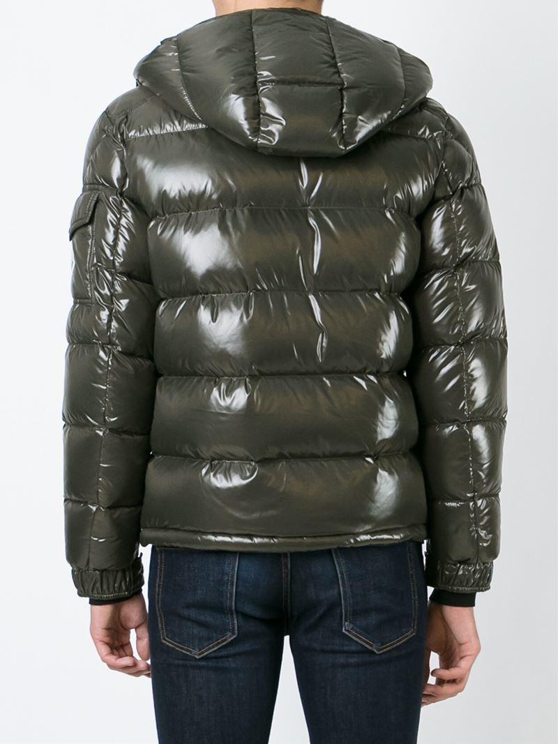 moncler dark green jacket
