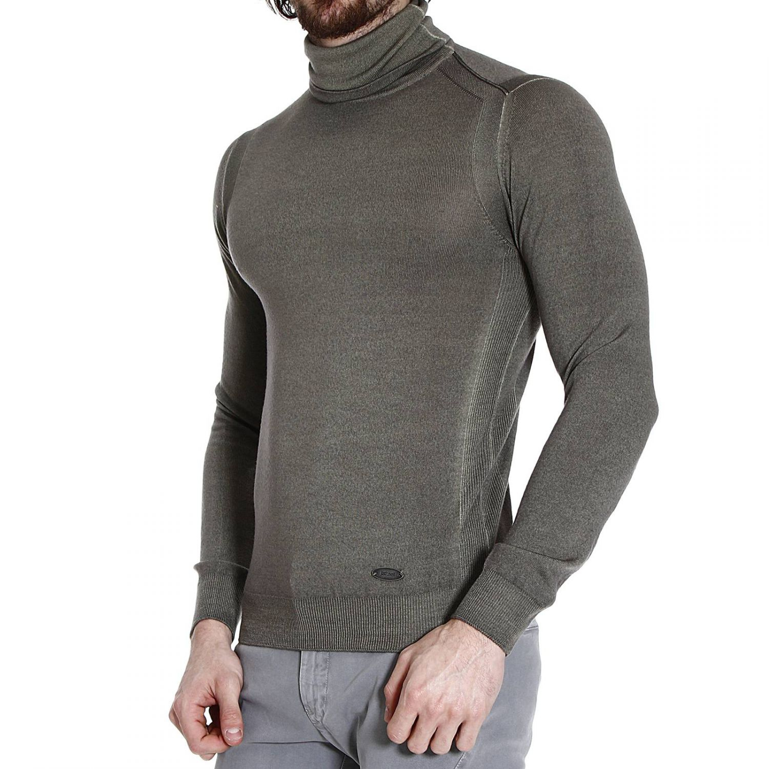 roberto cavalli sweater man in gray for men lyst. Black Bedroom Furniture Sets. Home Design Ideas