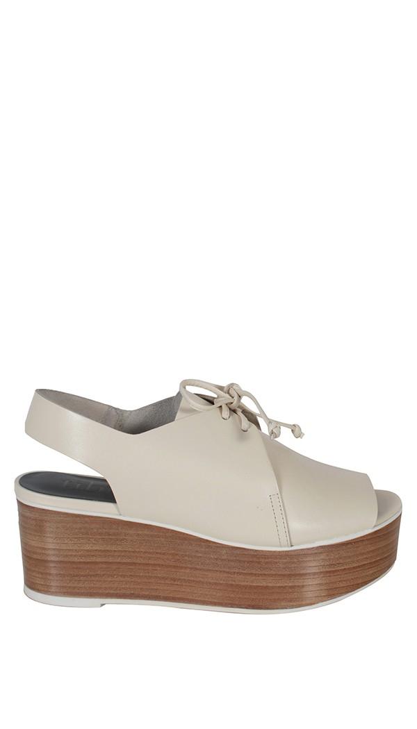 fddcb18a7a65 Lyst - Tibi Malone Sandals in White