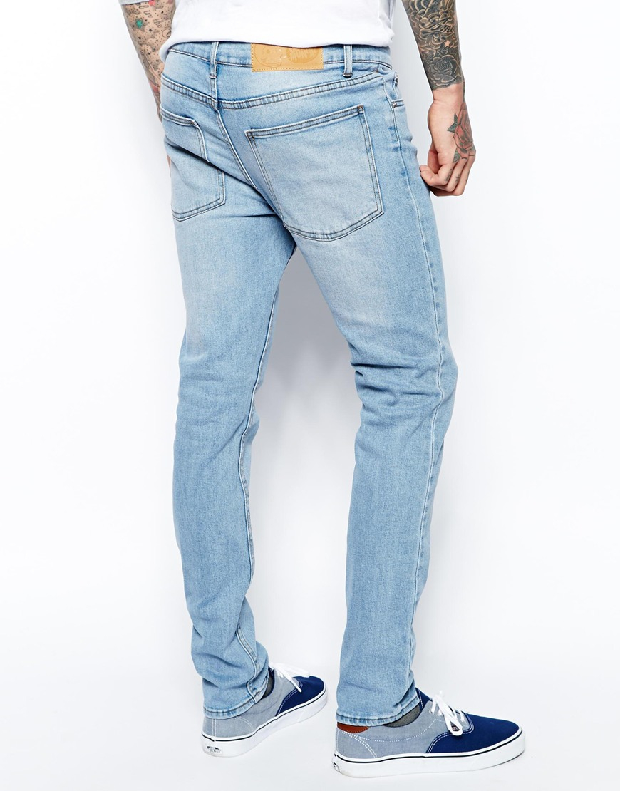 Jeans, A timeless cut in a timeless wash, these slim leg jeans are a regular length of 82cm, with a classic high rise fit. Made from a mid weight oz denim for durability, this wardrobe staple is a versatile bierek.tken's Clothing.