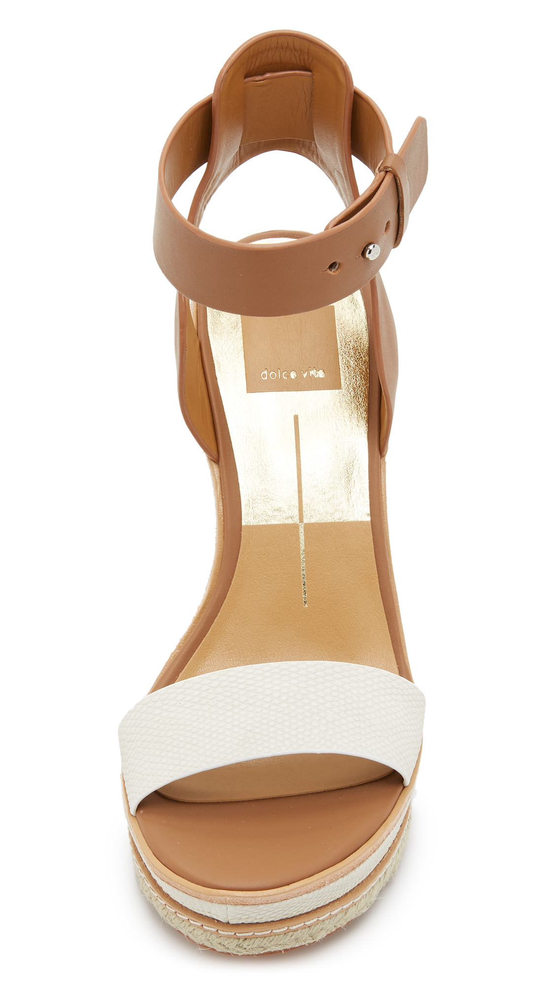 cce2e024559 Lyst - Dolce Vita Heath Wedge Sandals in Brown