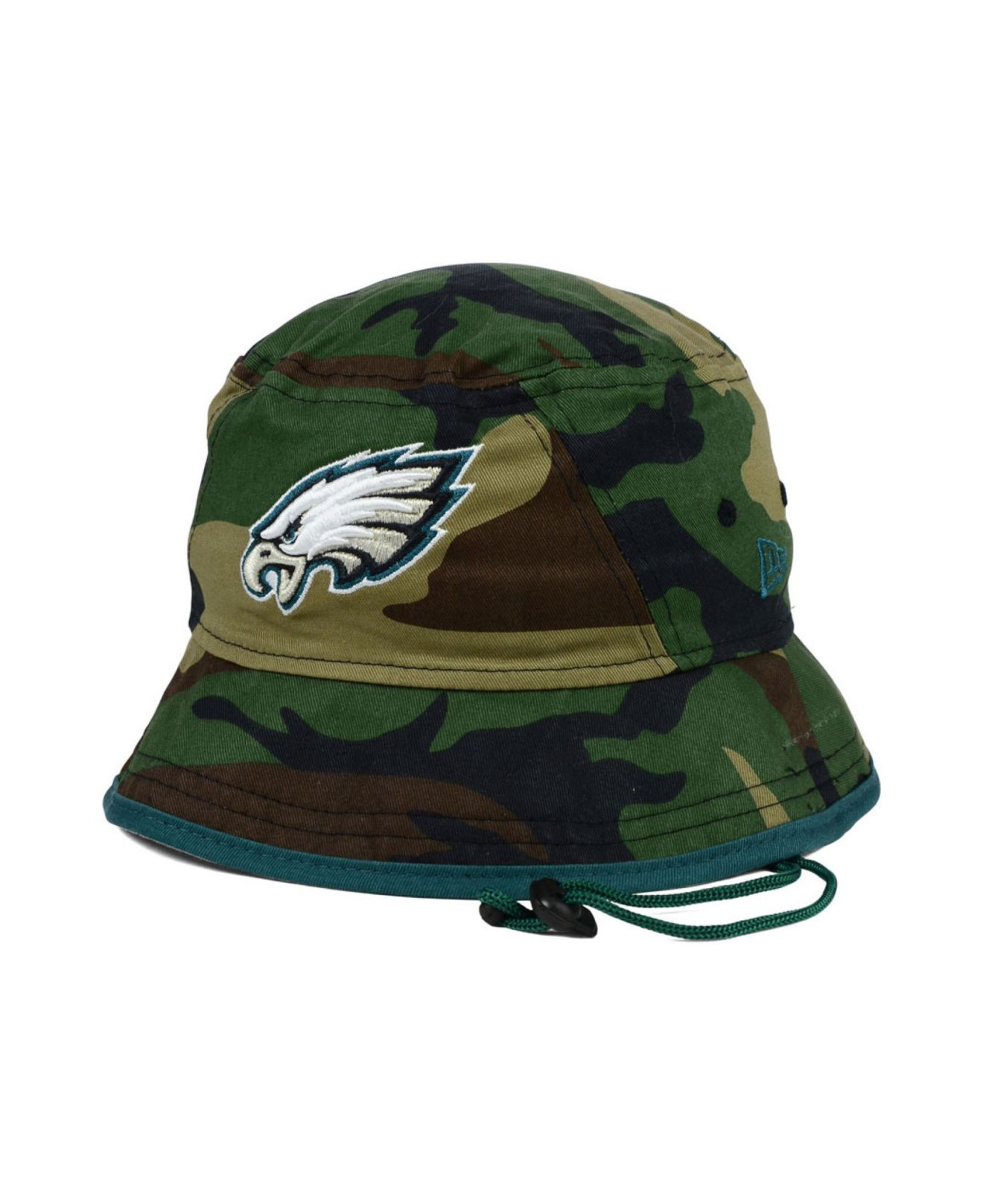 separation shoes 450d5 a13cf ... aliexpress lyst ktz philadelphia eagles camo pop bucket hat in green  for men 2f54f 2be7d
