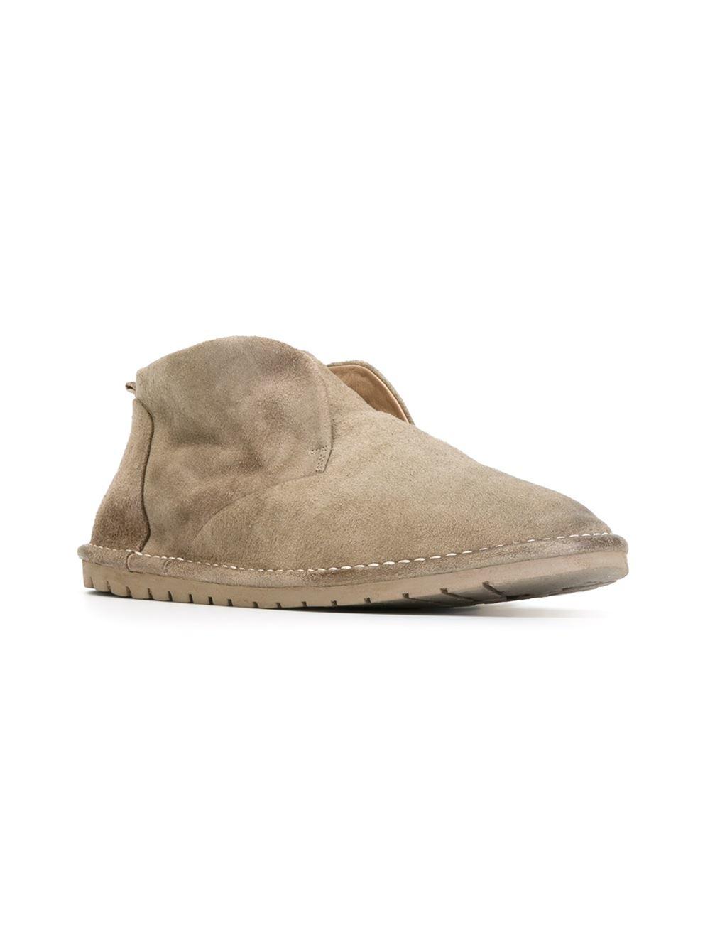 MARS LL Desert boots Beige Leather 1A4ltcl1