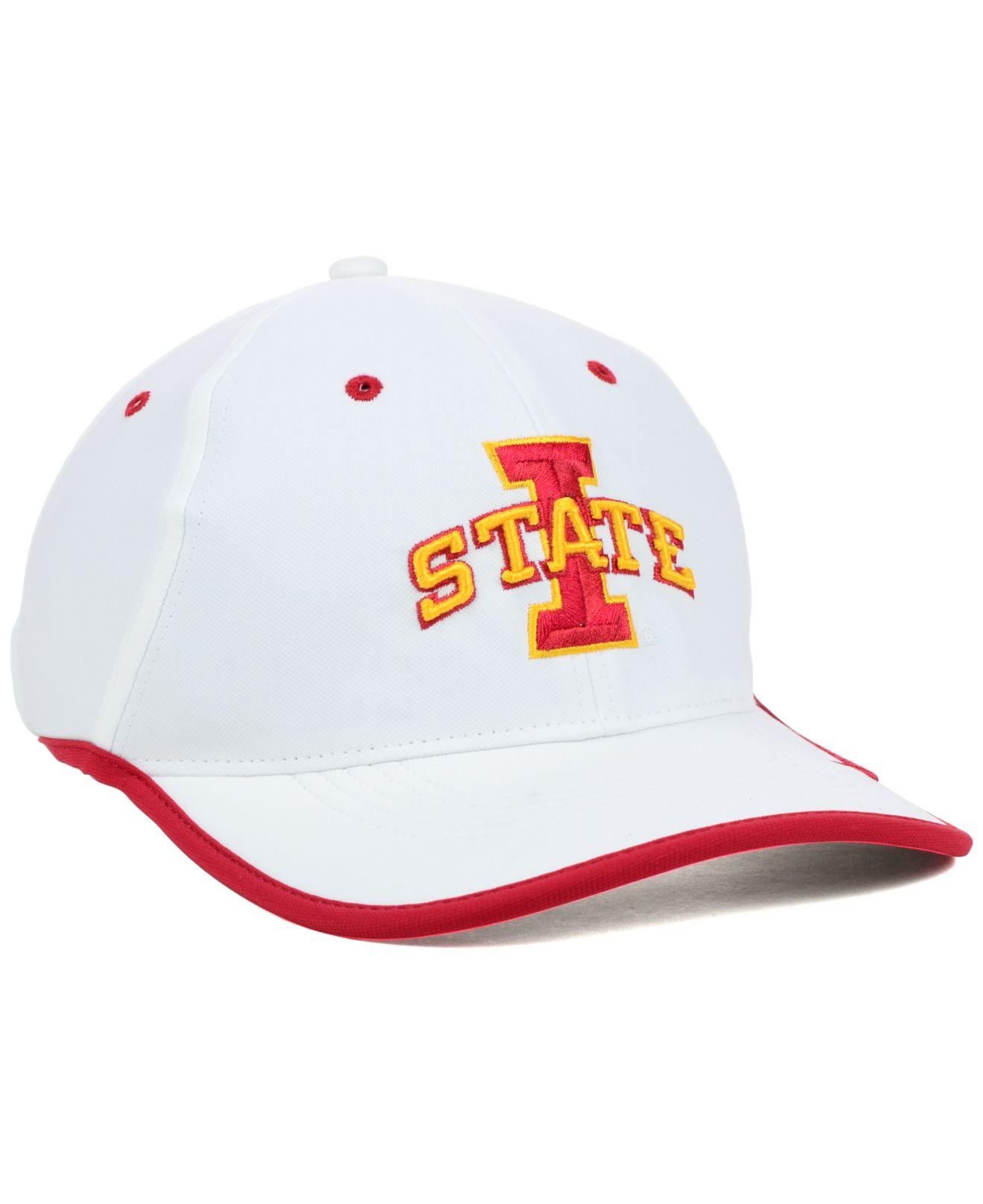 best website 582de 220f5 ... sale lyst nike iowa state cyclones coaches dri fit cap in white for men  d898b 9dc51