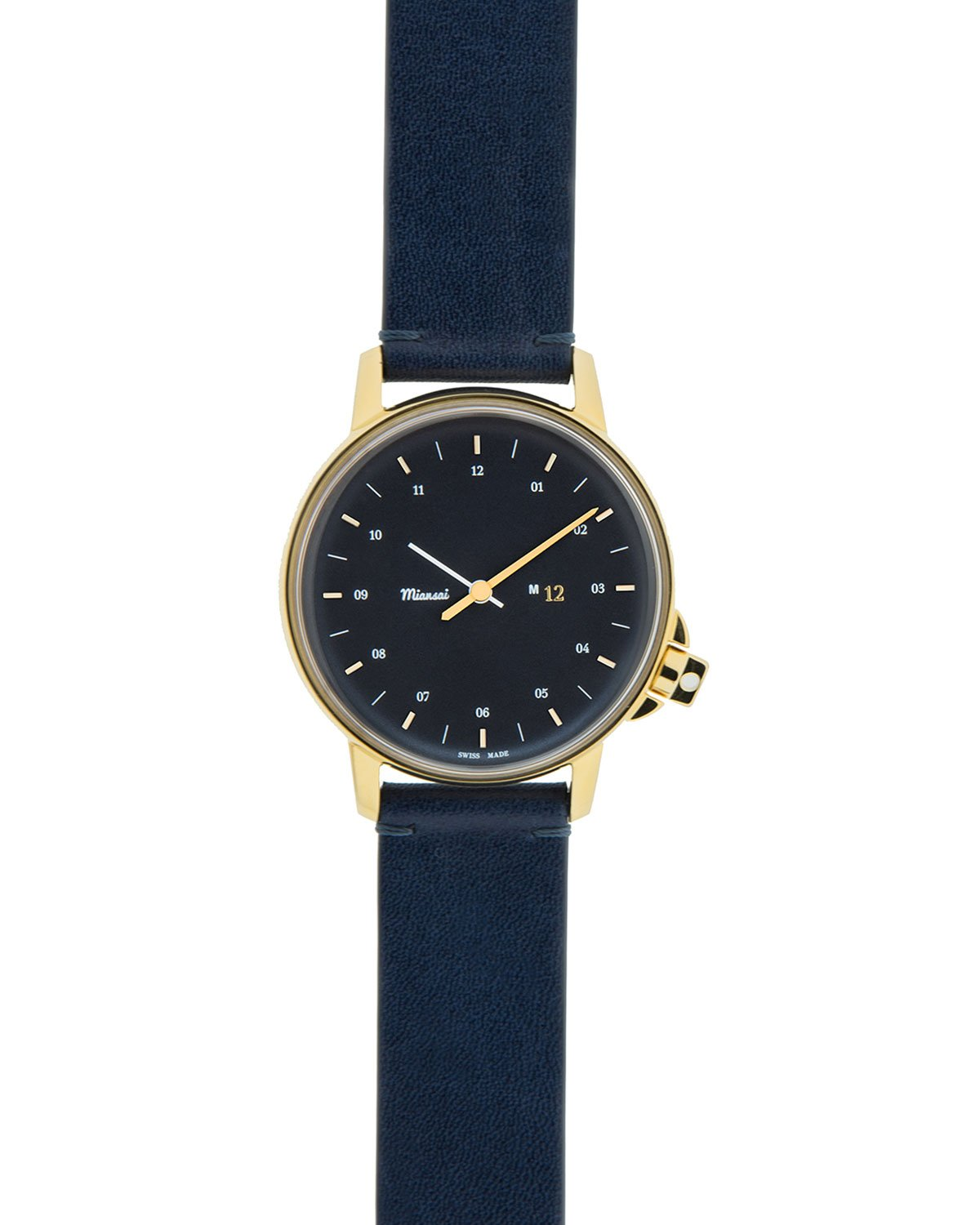 miansai m12 with leather in blue for lyst