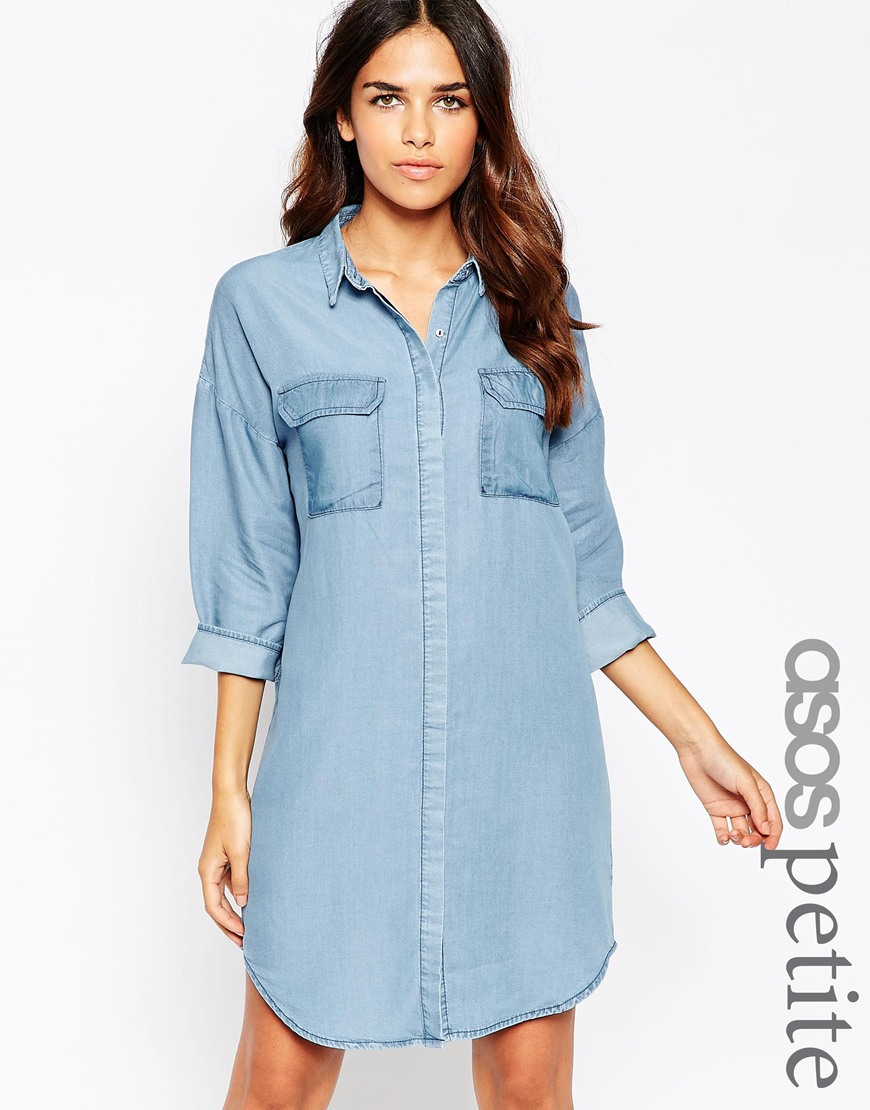 e58a58f1430 Jean Shirt Dress Long Sleeve - Data Dynamic AG