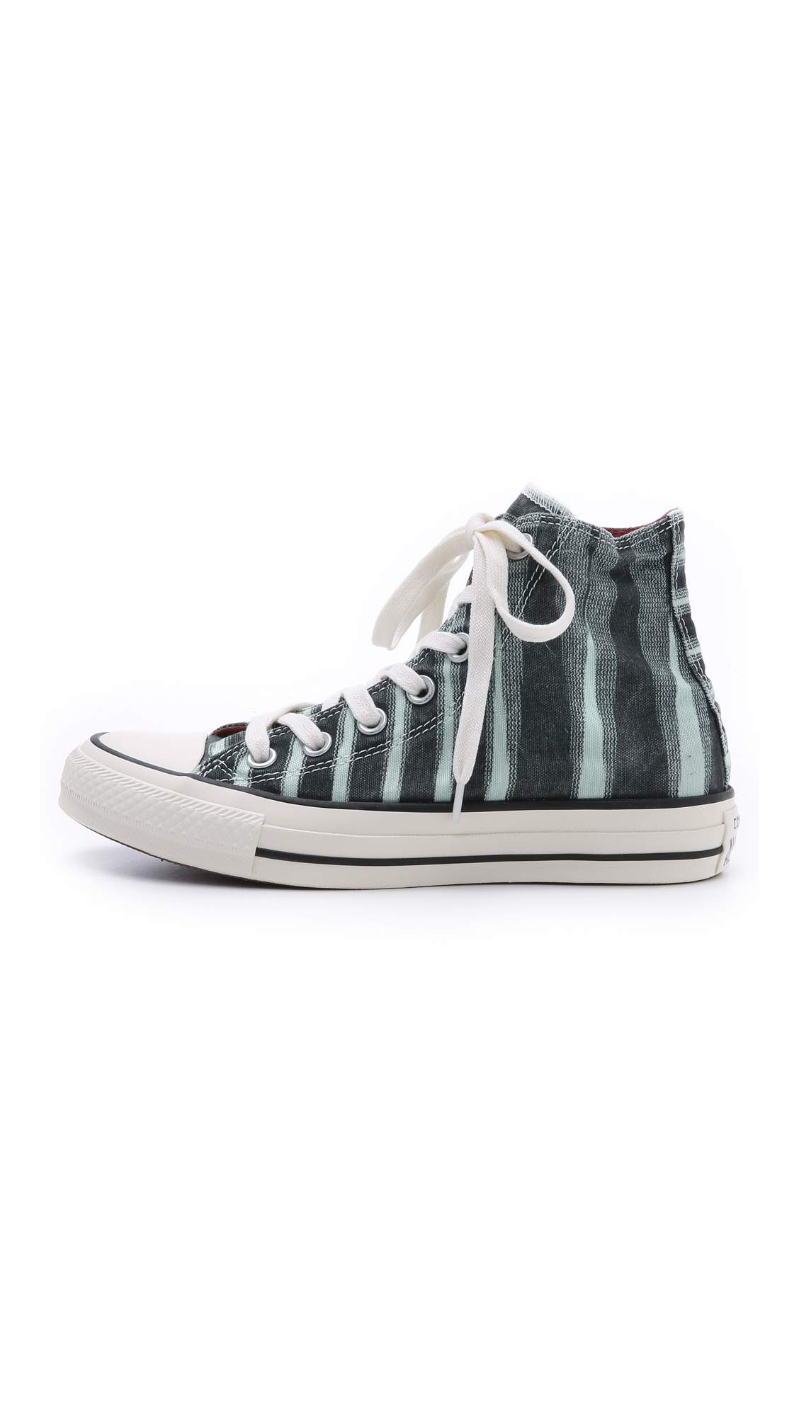 Lyst - Converse Chuck Taylor All Star Missoni High Top Sneakers in Green e0948d911e6