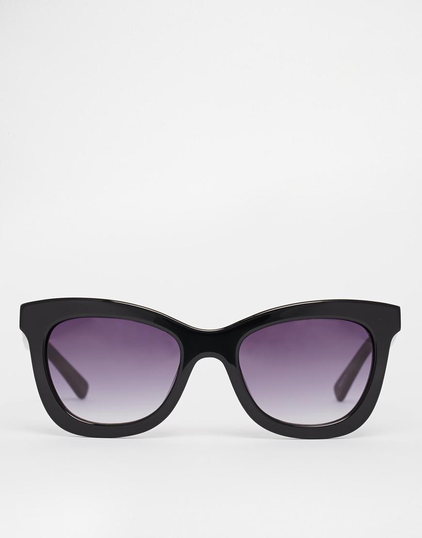 de Handmade seleccionado y con Gafas acetato Femme estuche de rígido sol Negro BzSAq