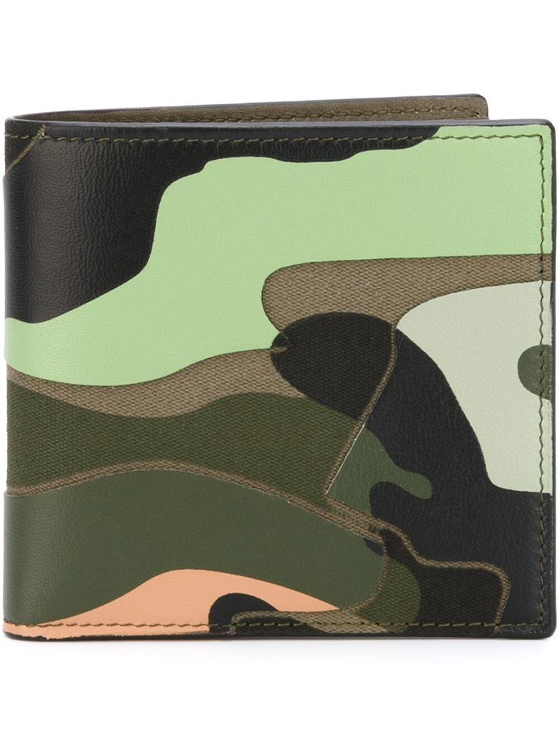 Camouflage Multicolore Portefeuille Valentino eXnyML32