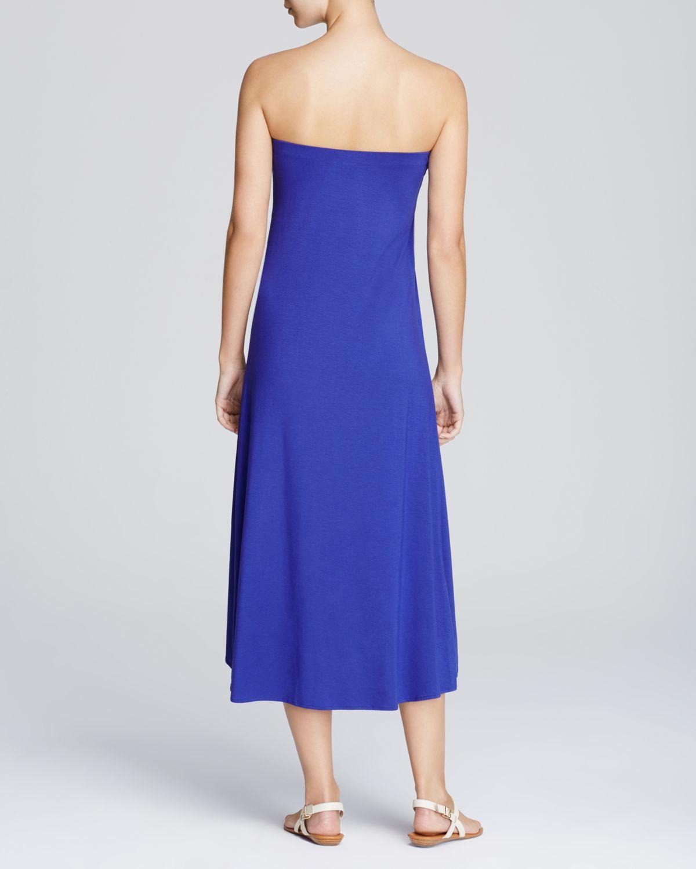 ella moss midi dress maxi skirt combo in blue royal