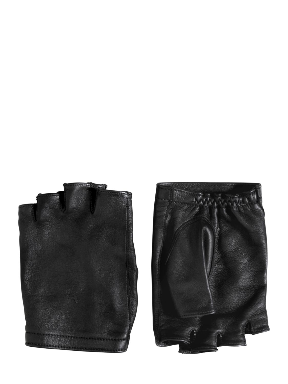 John varvatos leather driving gloves - Gallery