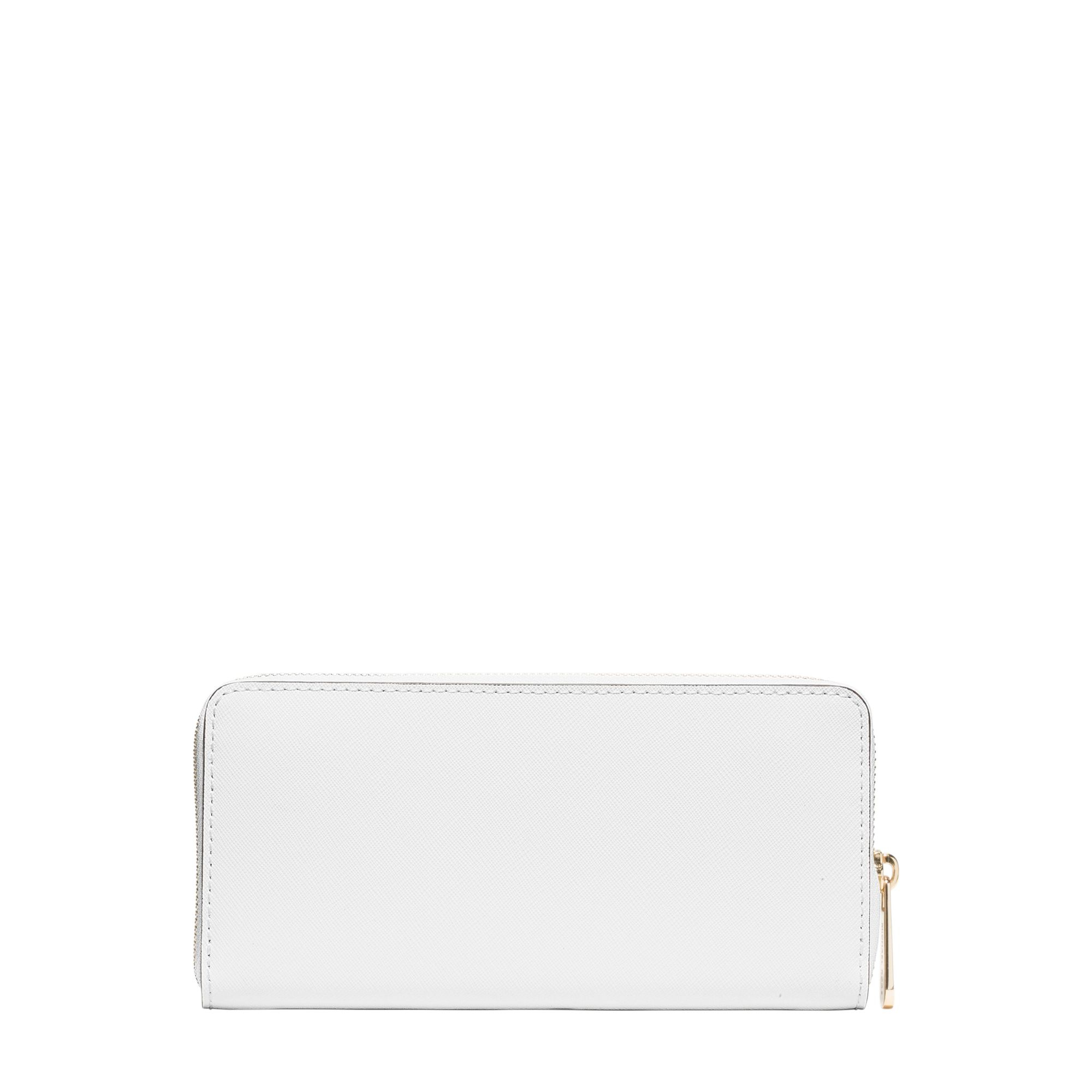 38a18f8fd6bf61 Michael Kors Jet Set Travel Saffiano Leather Continental Wallet in ...