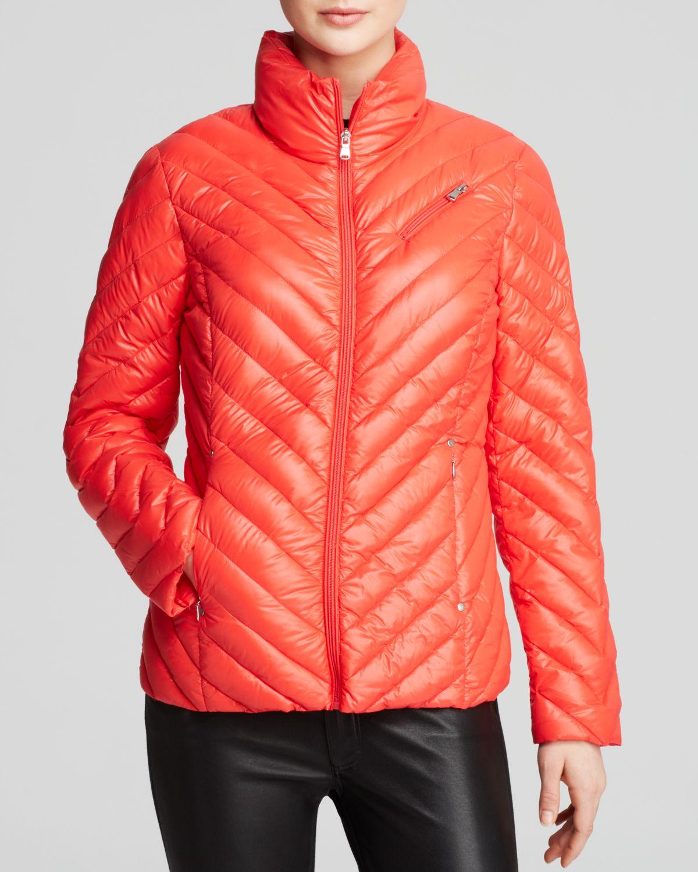 Ralph Lauren Lauren Jacket Chevron Quilted Packable Zip