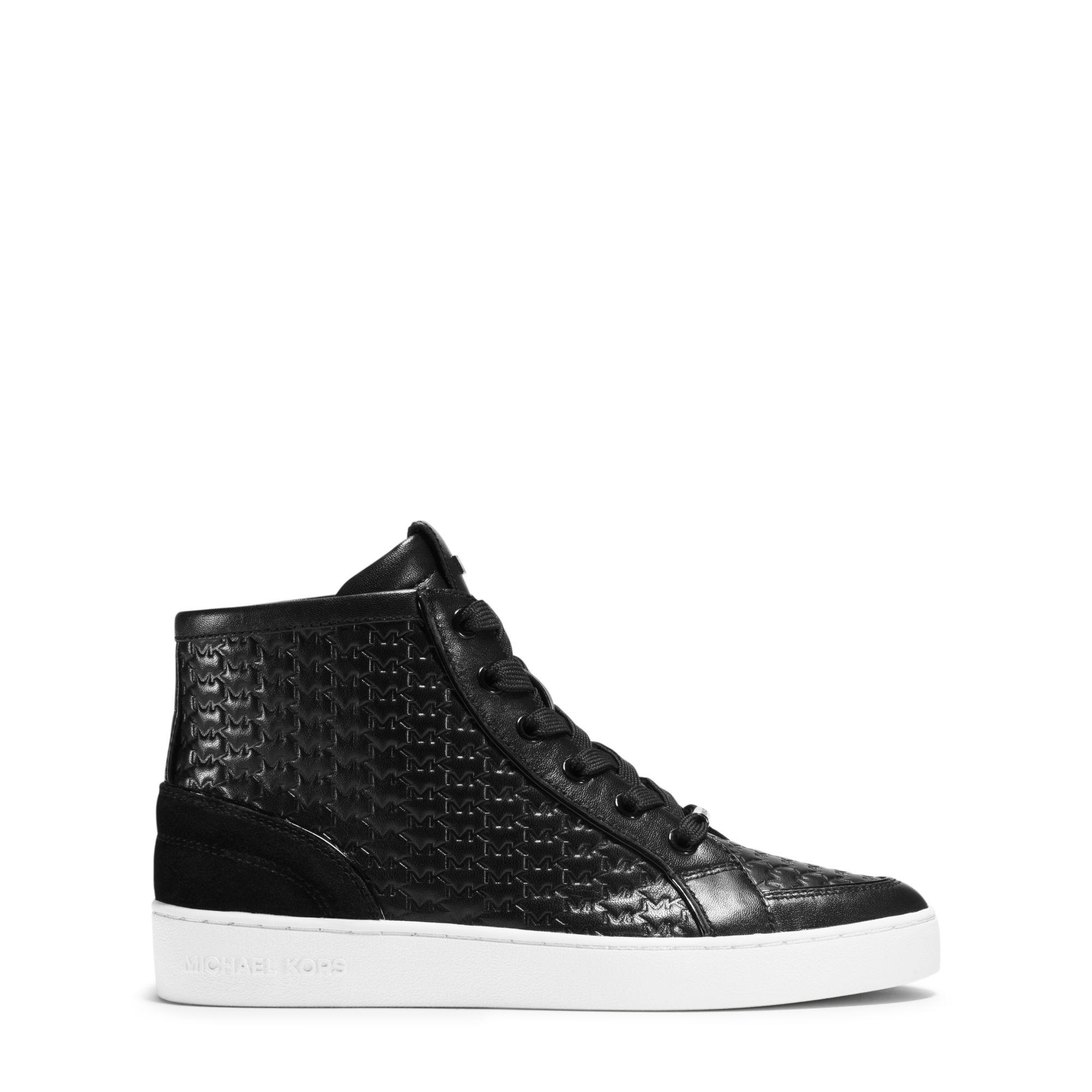 official michael kors outlet omhx  michael kors high top sneakers black