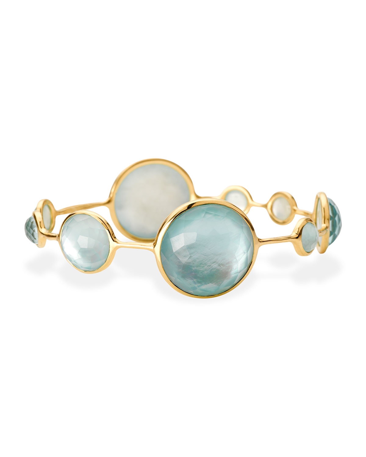 Ippolita 18K Gold Rock Candy Bangle in Mother-of-Pearl 8fykG