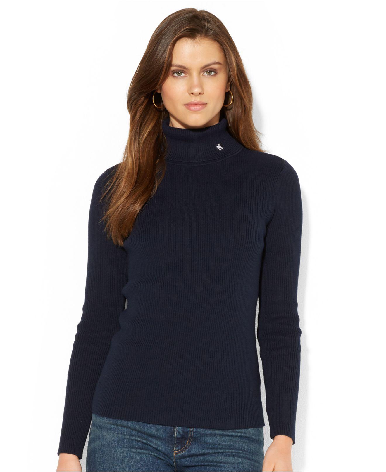 Ralph Lauren Turtleneck Sweater - Long Sweater Jacket
