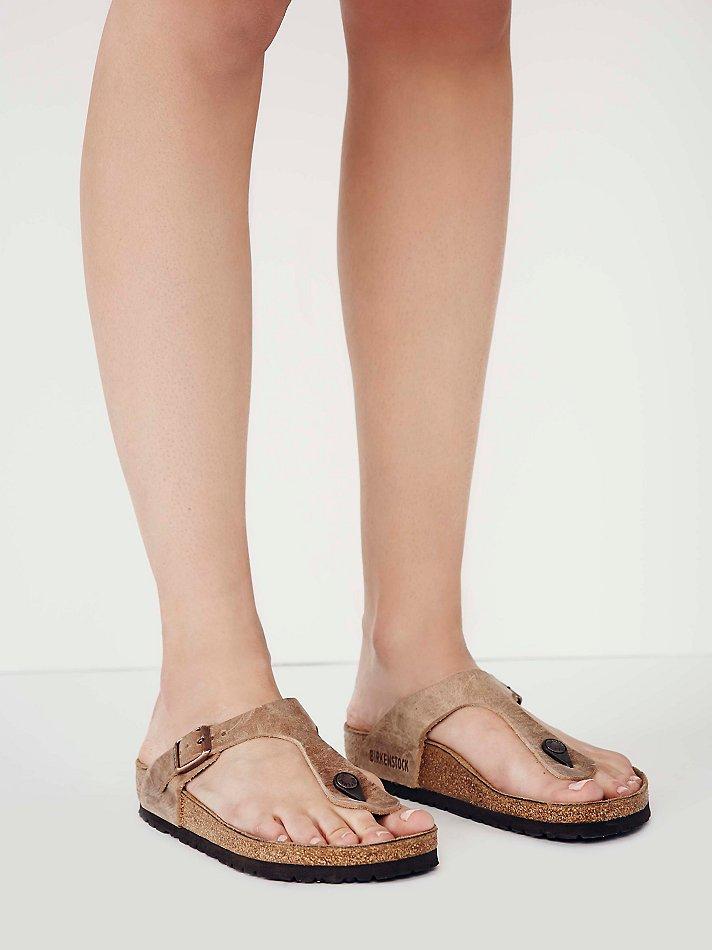 birkenstock gizeh leather habana