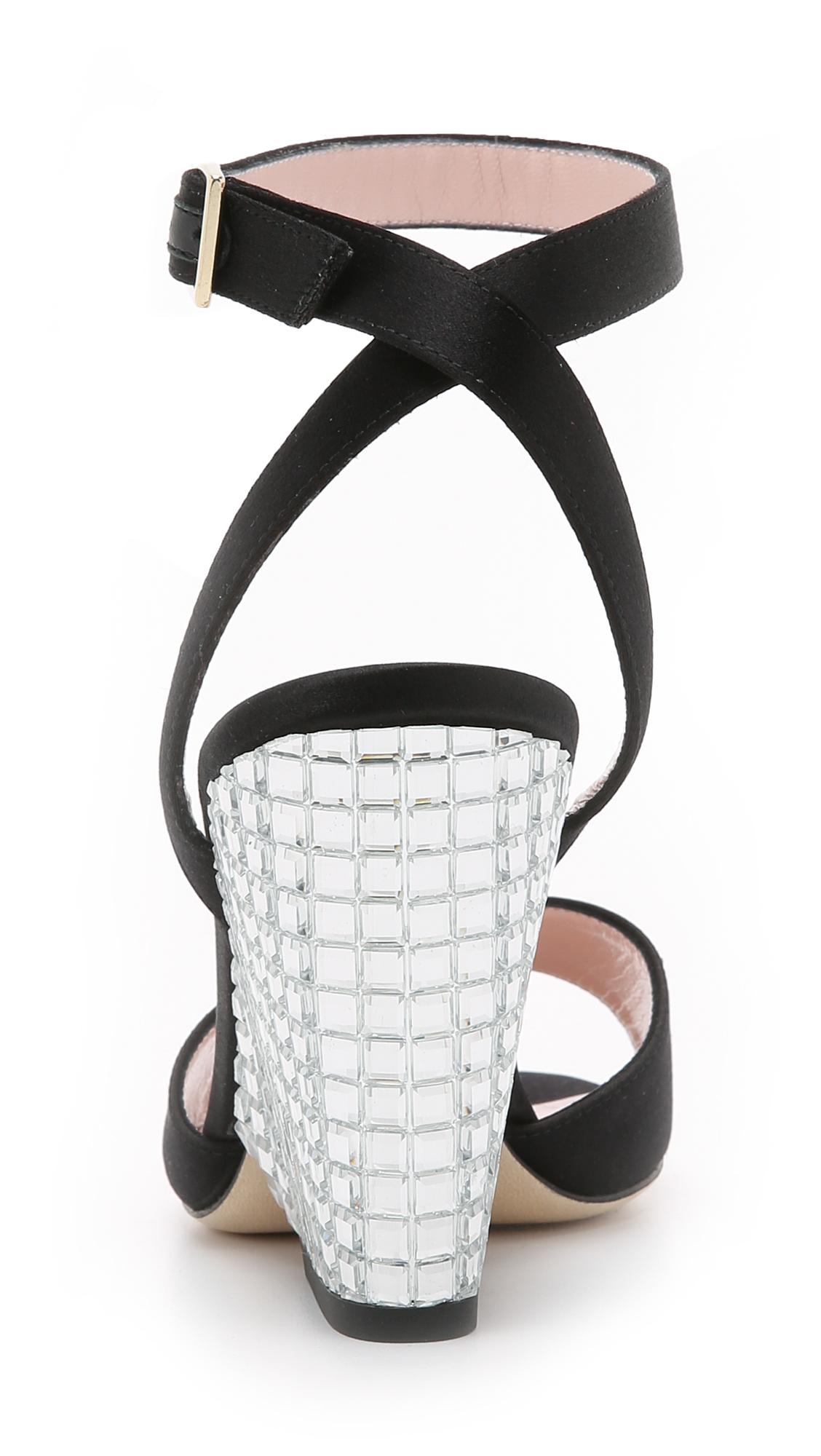 603374723bd1 Lyst - Kate Spade Isadora Wedges - Black in Black