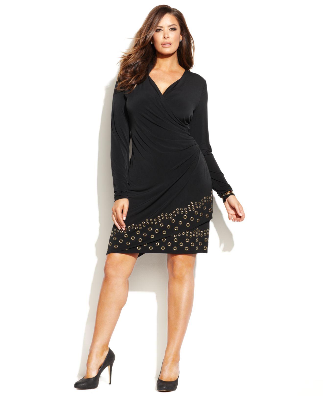 Black dress size 0 grommet
