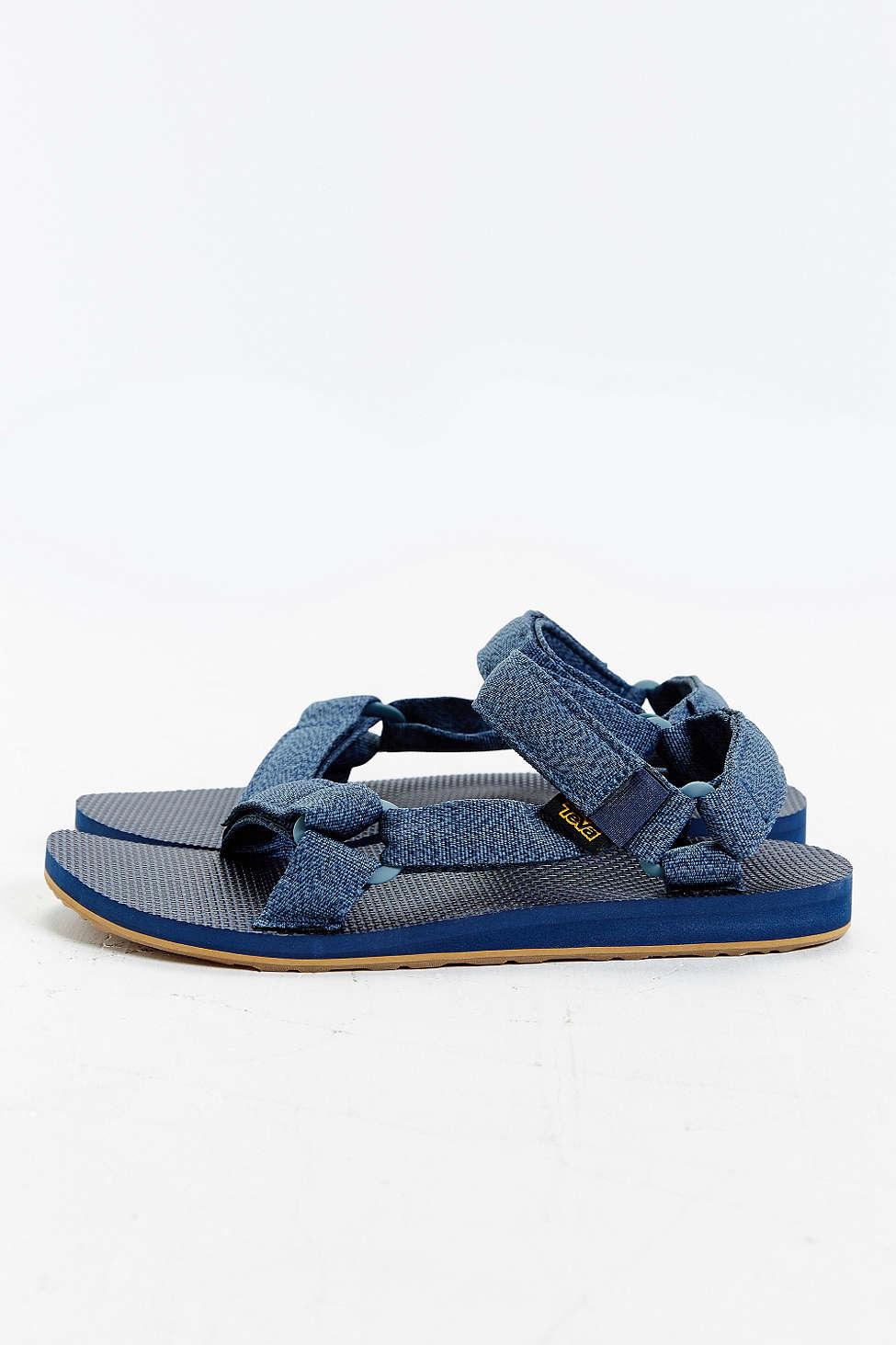 2d6c382fda0b3c Lyst - Teva Original Universal Marbled Sandal in Blue for Men