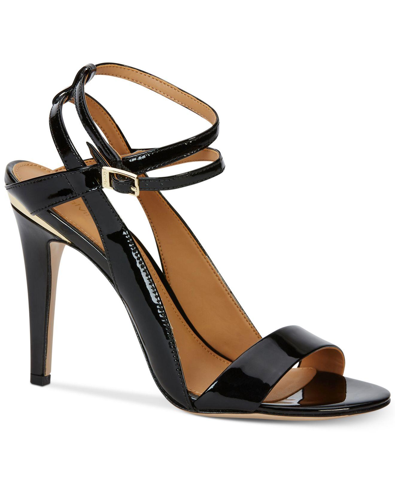 e6690b3b60ae Lyst - Calvin Klein Women s Melville Ankle-strap Sandals in Black