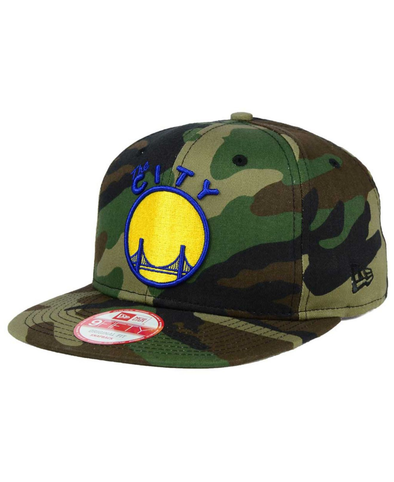 c5e95552cd1 Lyst - KTZ Golden State Warriors State Clip 9fifty Snapback Cap in ...