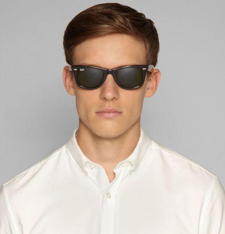 a27a00f1d084 Ray-ban Original Wayfarer Sunglasses in Black for Men