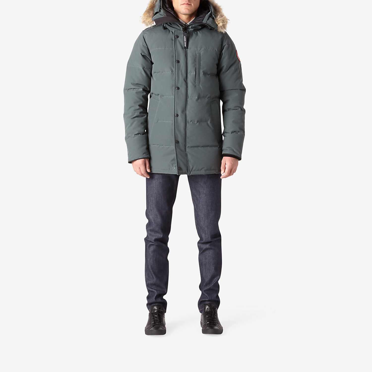 Canada Goose chateau parka online shop - Canada goose Carson Parka in Gray for Men (SLATE) | Lyst