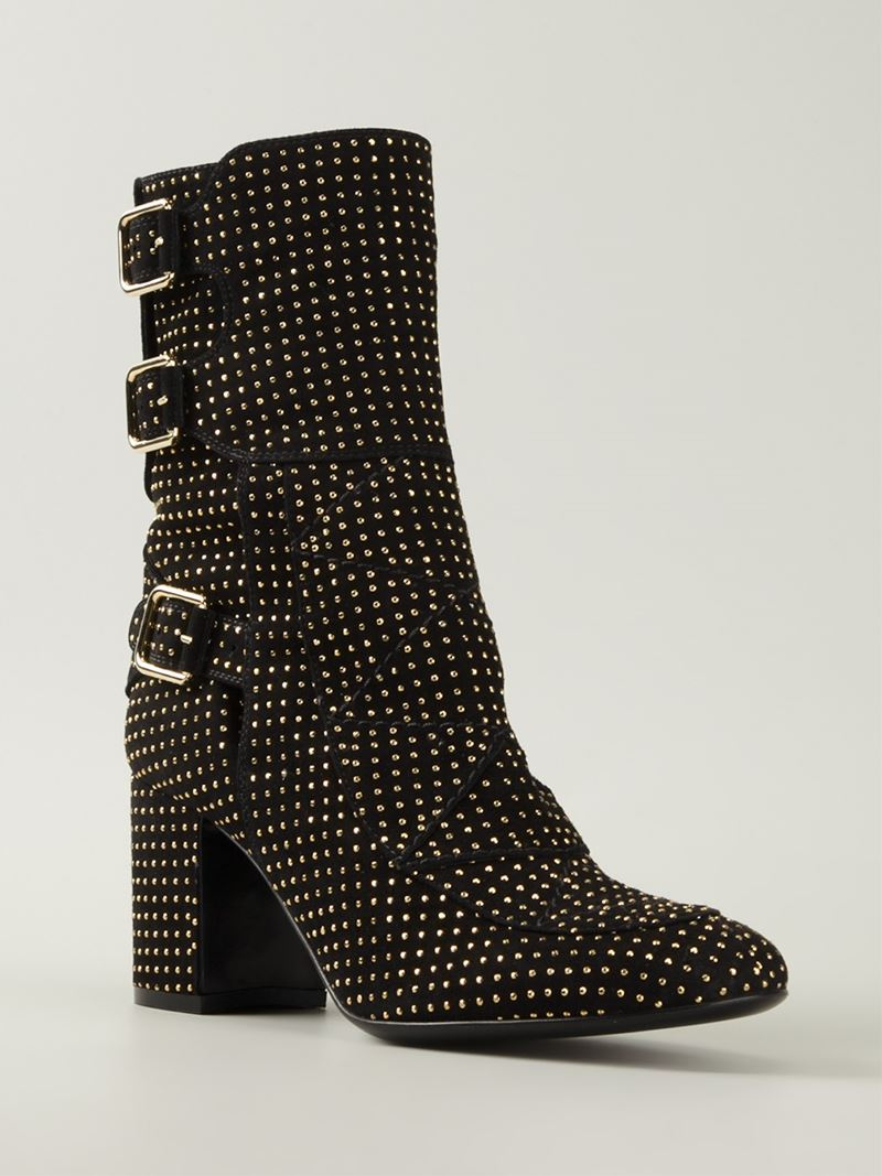 Laurence dacade 'achilles' Studded Boots in Black