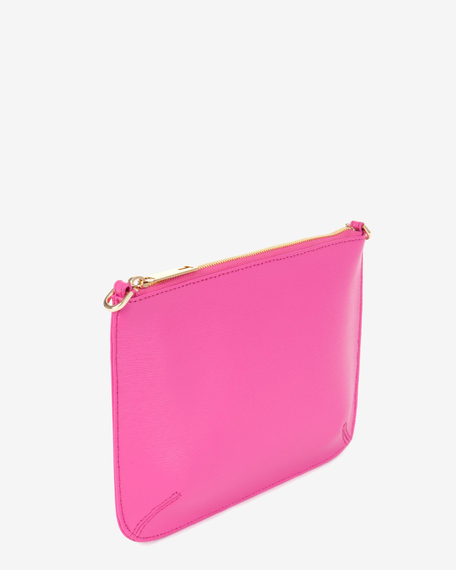 Bright Pink Clutch Bag 102