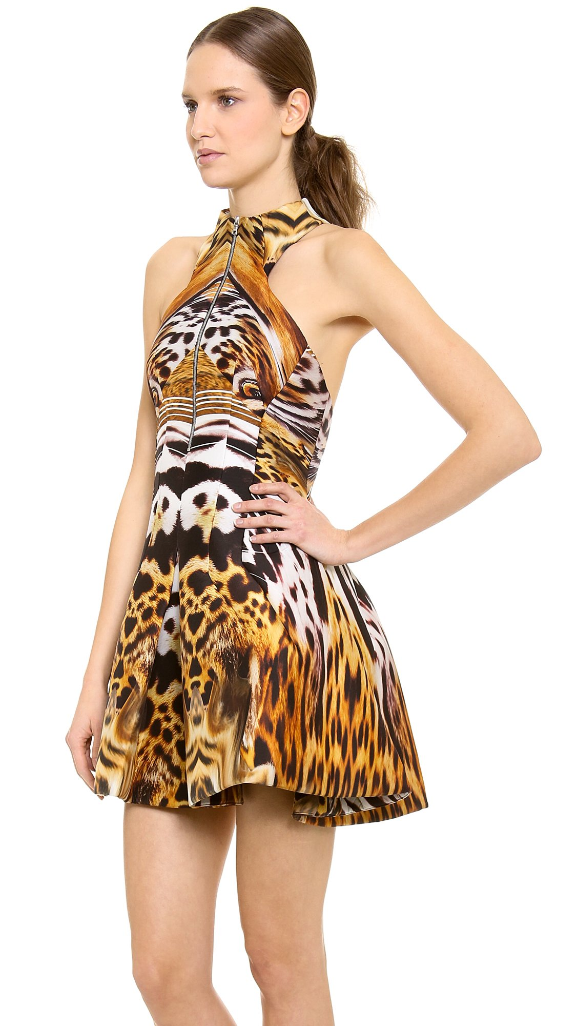 Lyst Josh Goot Tiger Dress