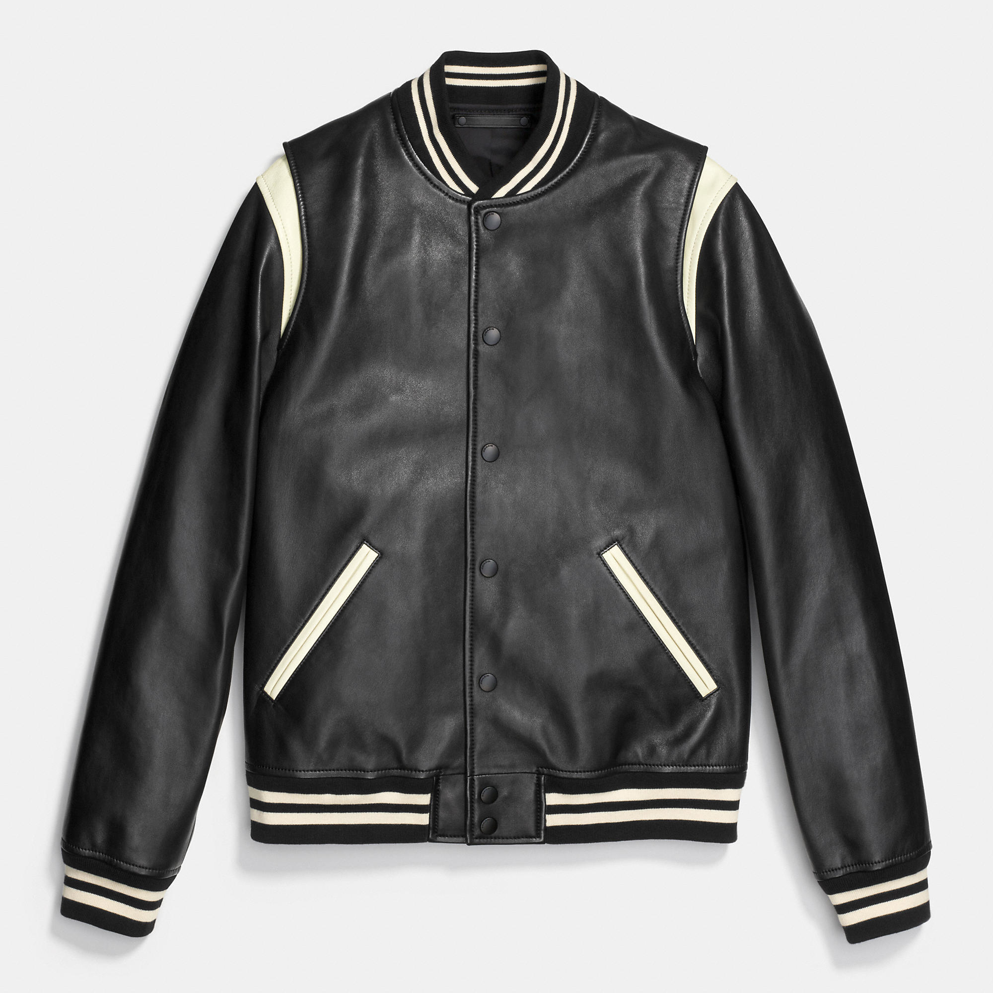 Baseball Jacket Leather - Jacket
