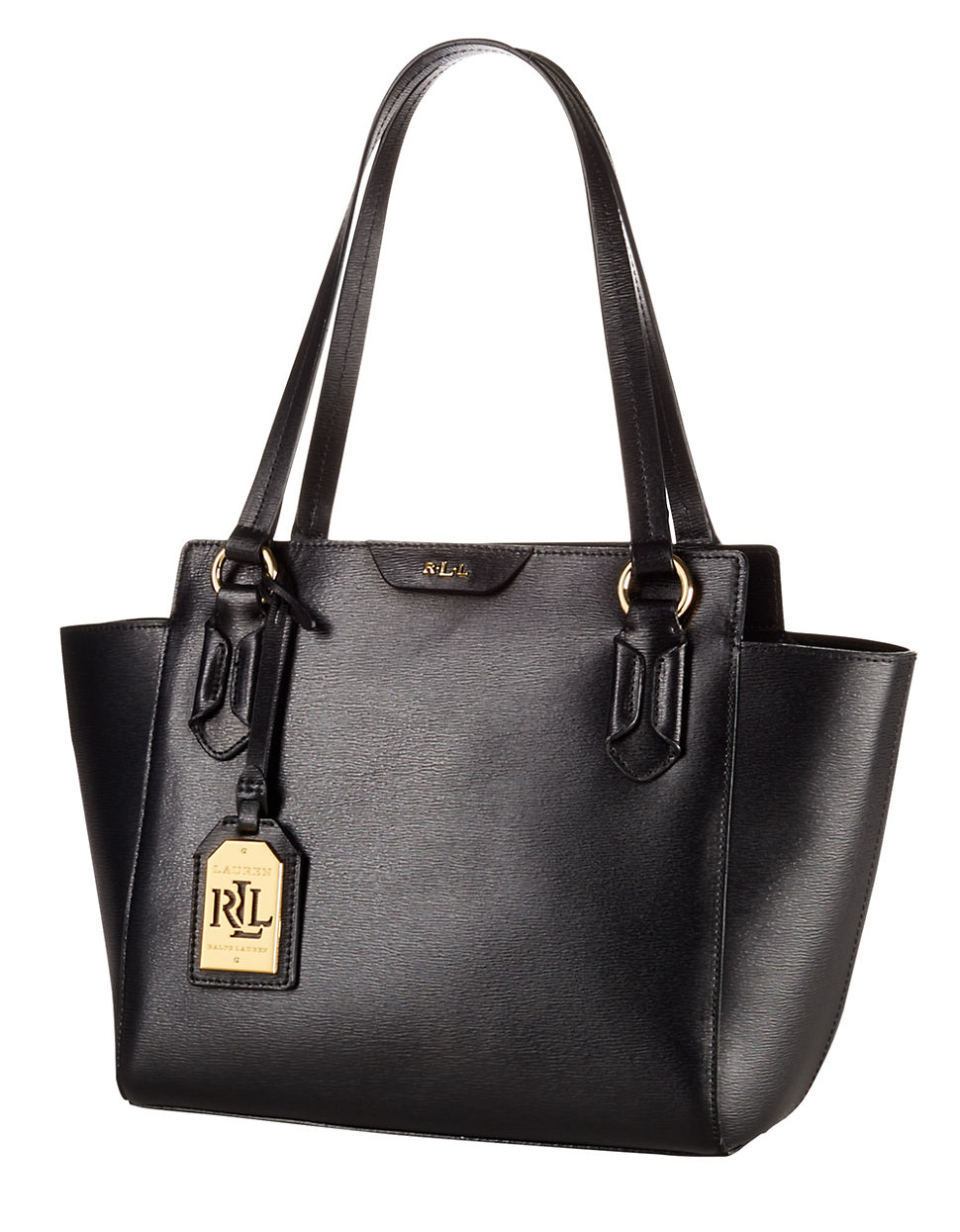 Ralph Lauren Tote Laukku : Lauren by ralph tate leather modern per tote