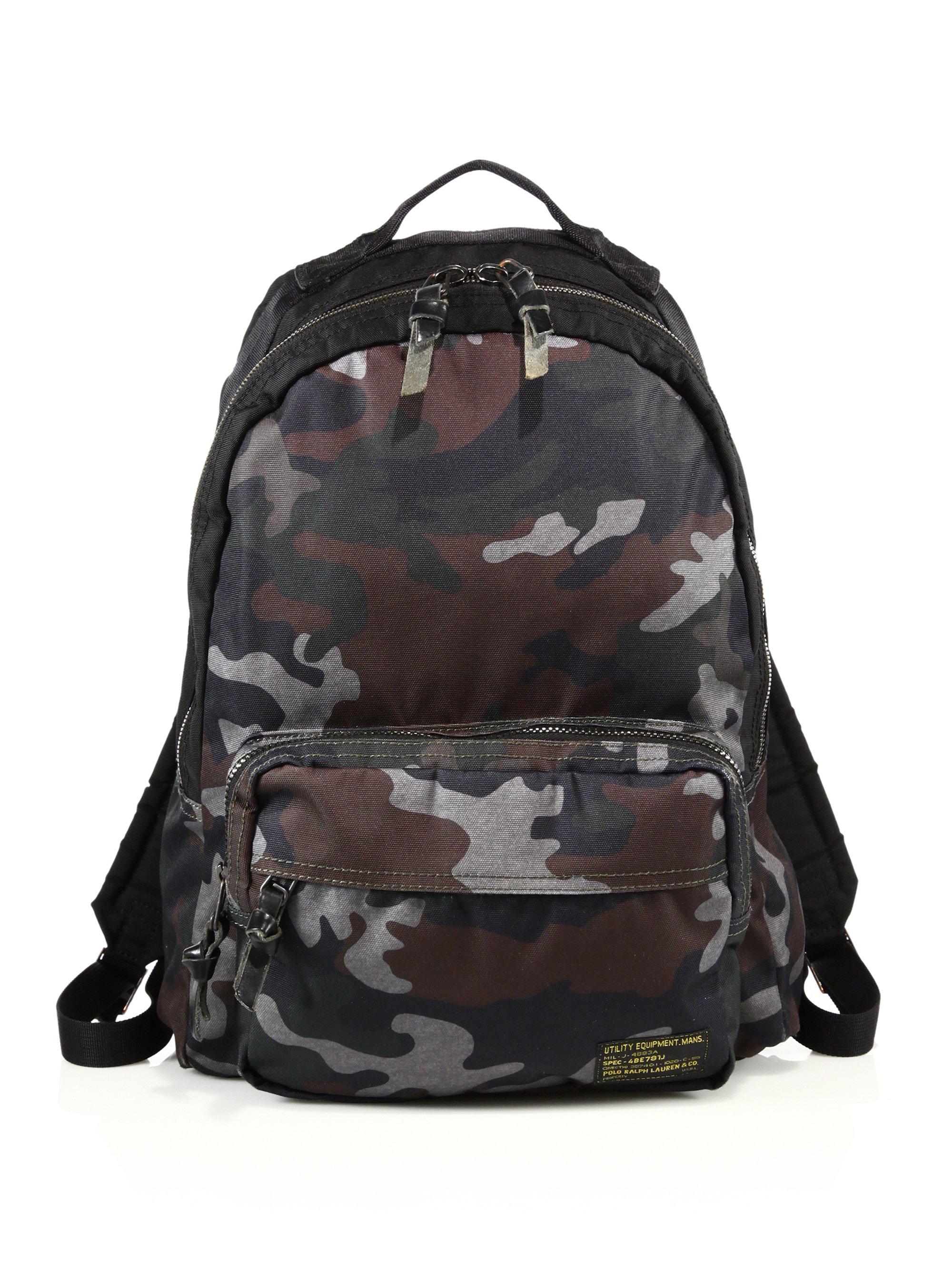 7f7b307a4da2 Polo ralph lauren Camo Backpack for Men