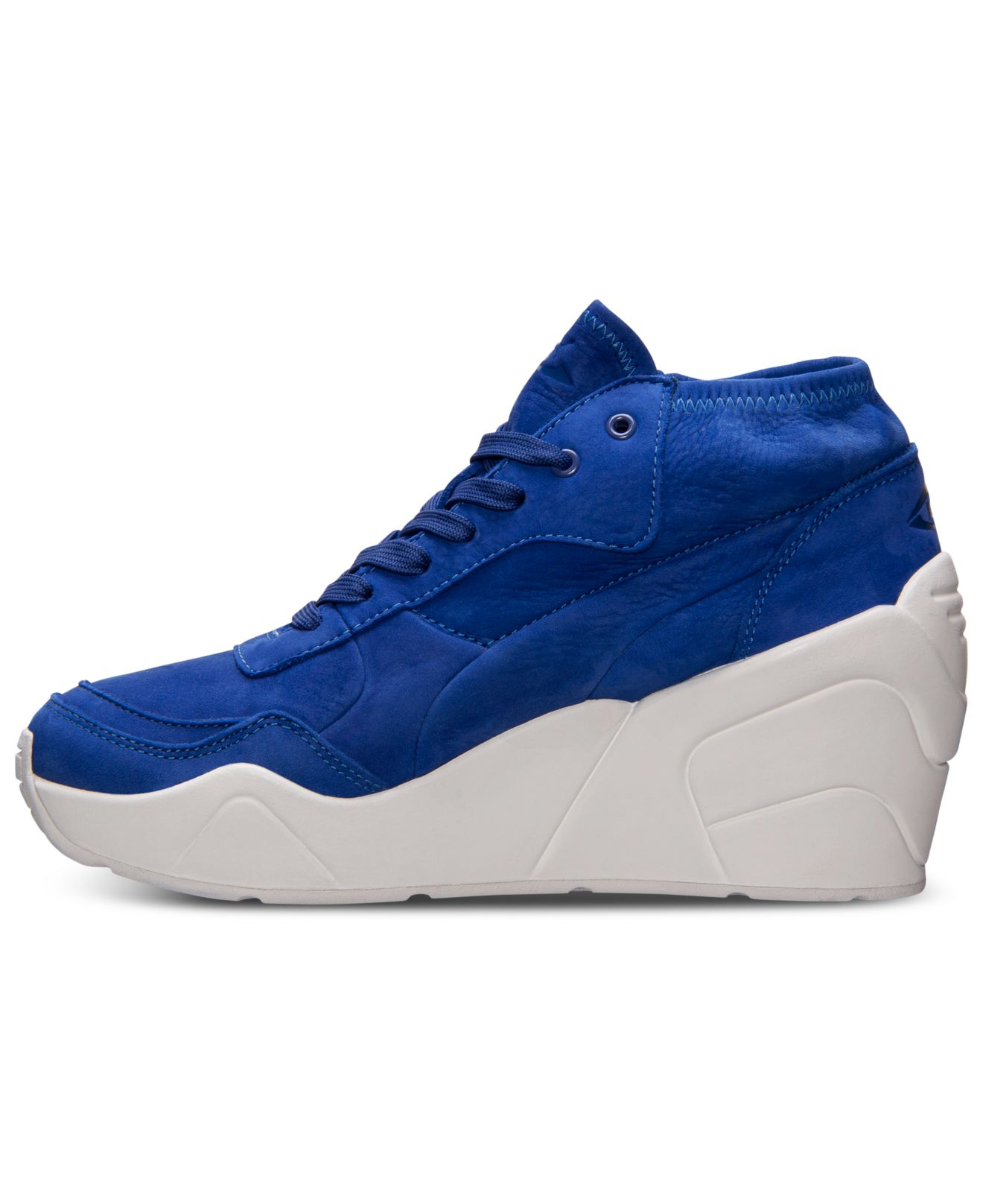 03b97caf3d7235 ... order lyst puma womens trinomic wedge casual sneakers from finish line  444a5 df44f ...