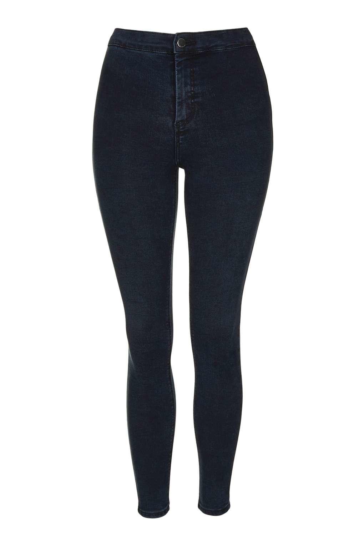 Lyst Hold Black Petite Power In Joni Topshop Jeans rRrqTP