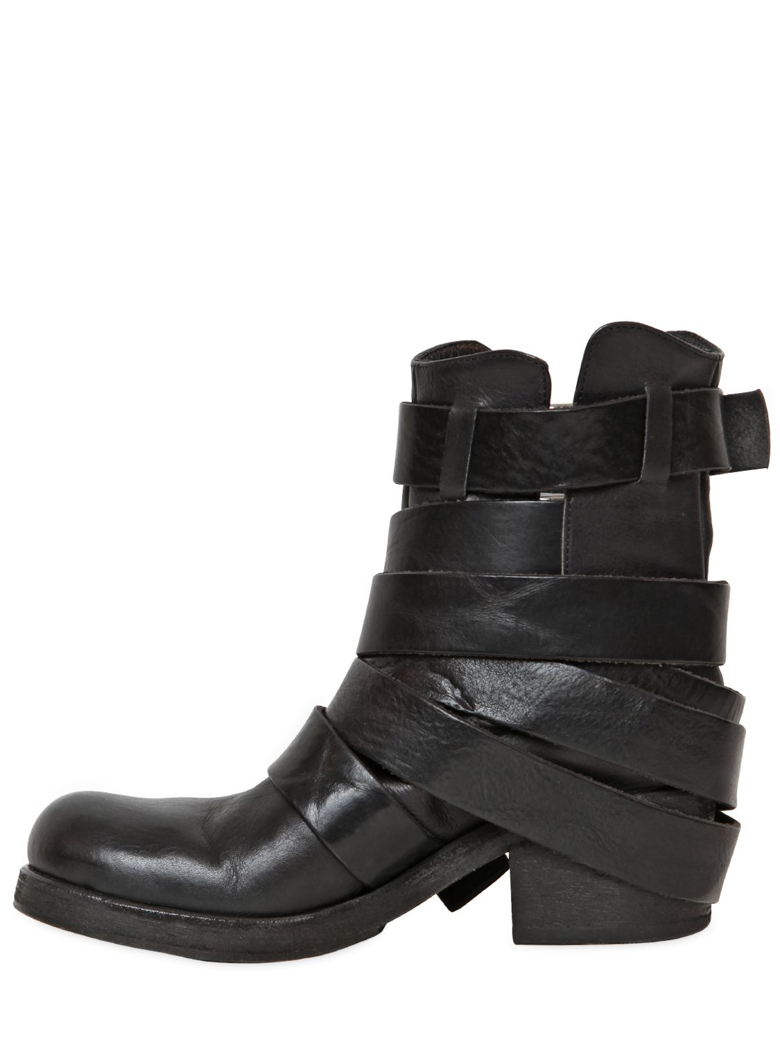 Strategia buckle boots