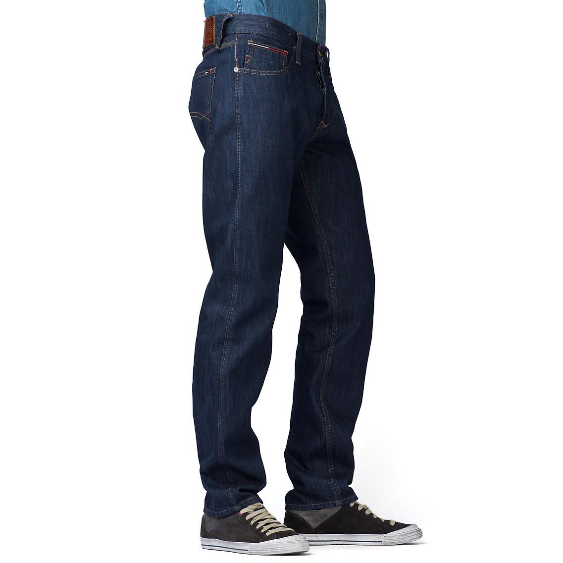 tommy hilfiger ronan straight leg jeans in blue for men lyst. Black Bedroom Furniture Sets. Home Design Ideas