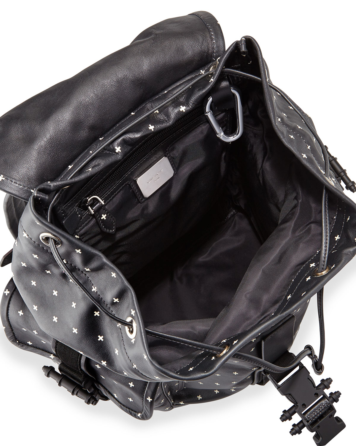 2a0f256fafad Lyst - Givenchy Men s Cross-print Leather Backpack in Black for Men