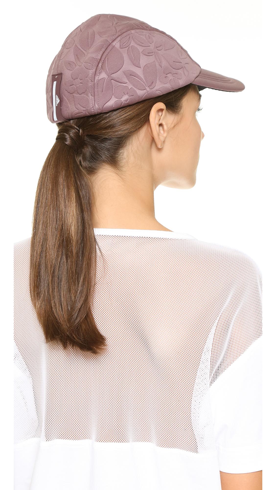 e276f0f7c585a adidas By Stella McCartney Running Cap in Purple - Lyst