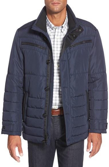 Bugatchi Jacket In Blue For Men Lyst