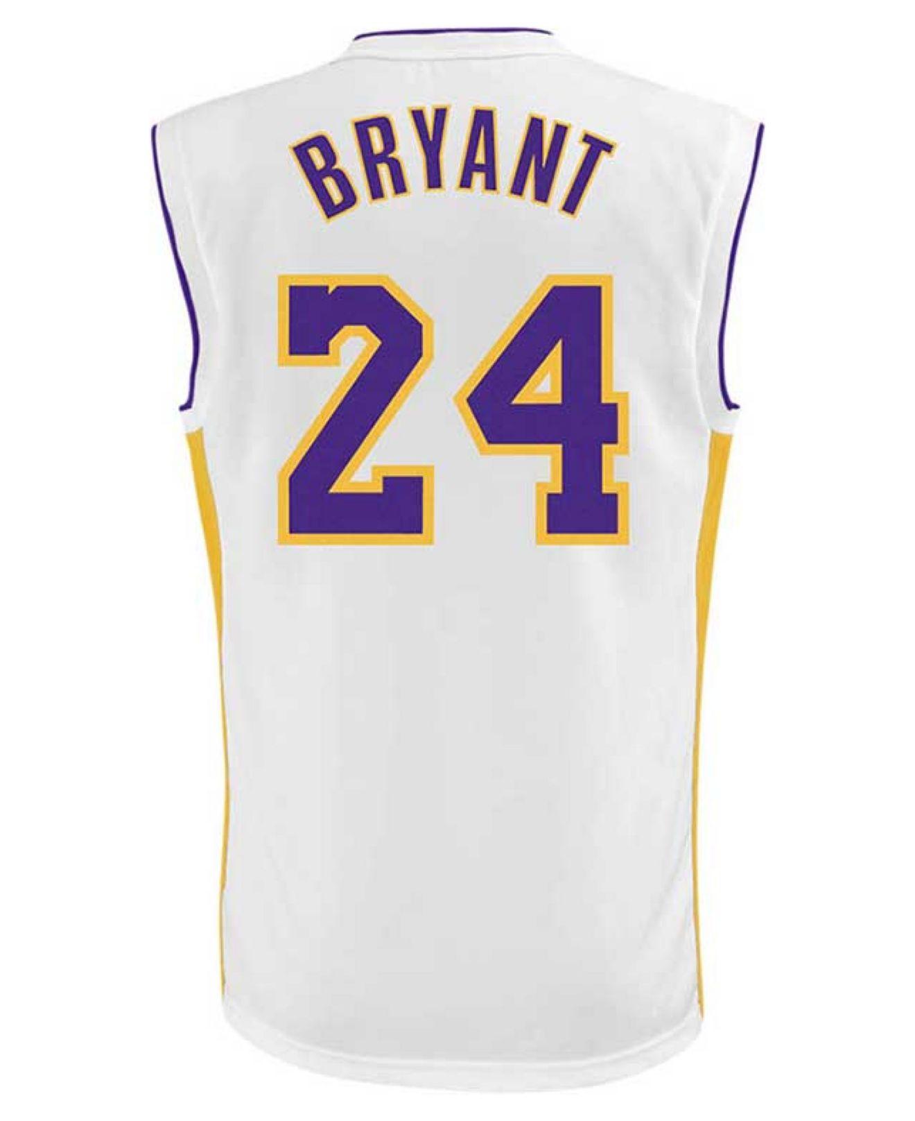 f64d83f29b60 Lyst - adidas Men s Kobe Bryant Los Angeles Lakers Replica Jersey in ...