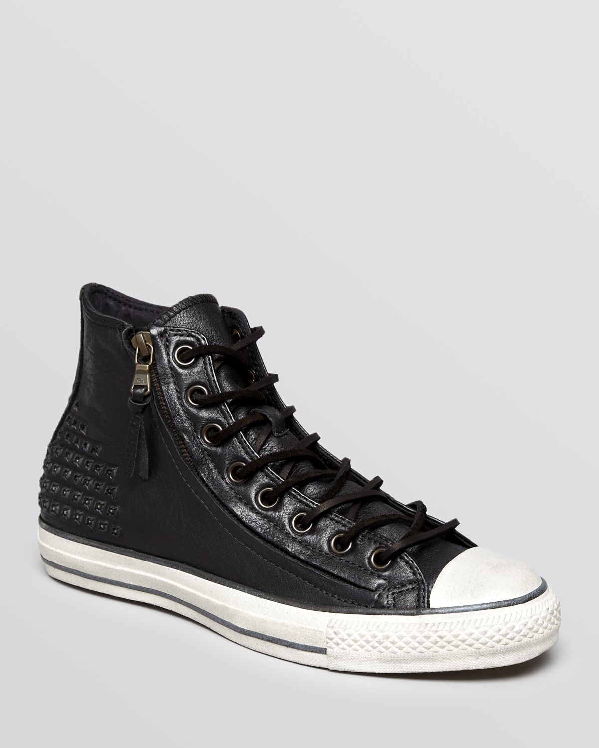 73972231764b Lyst - Converse Chuck Taylor All Star Double Zip High Top Sneakers ...