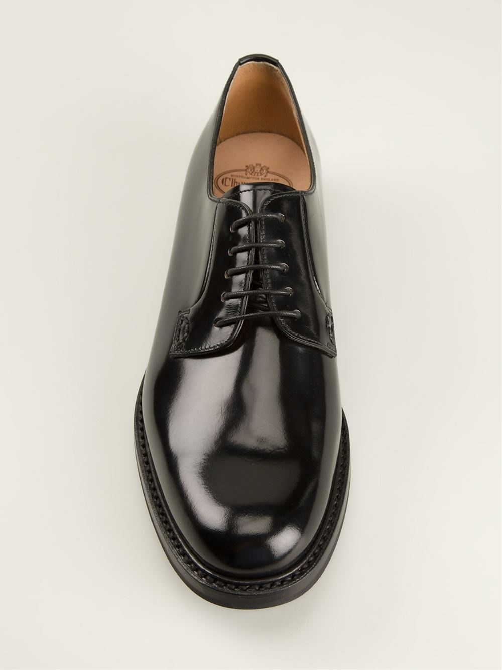 church s derby shoes in black lyst