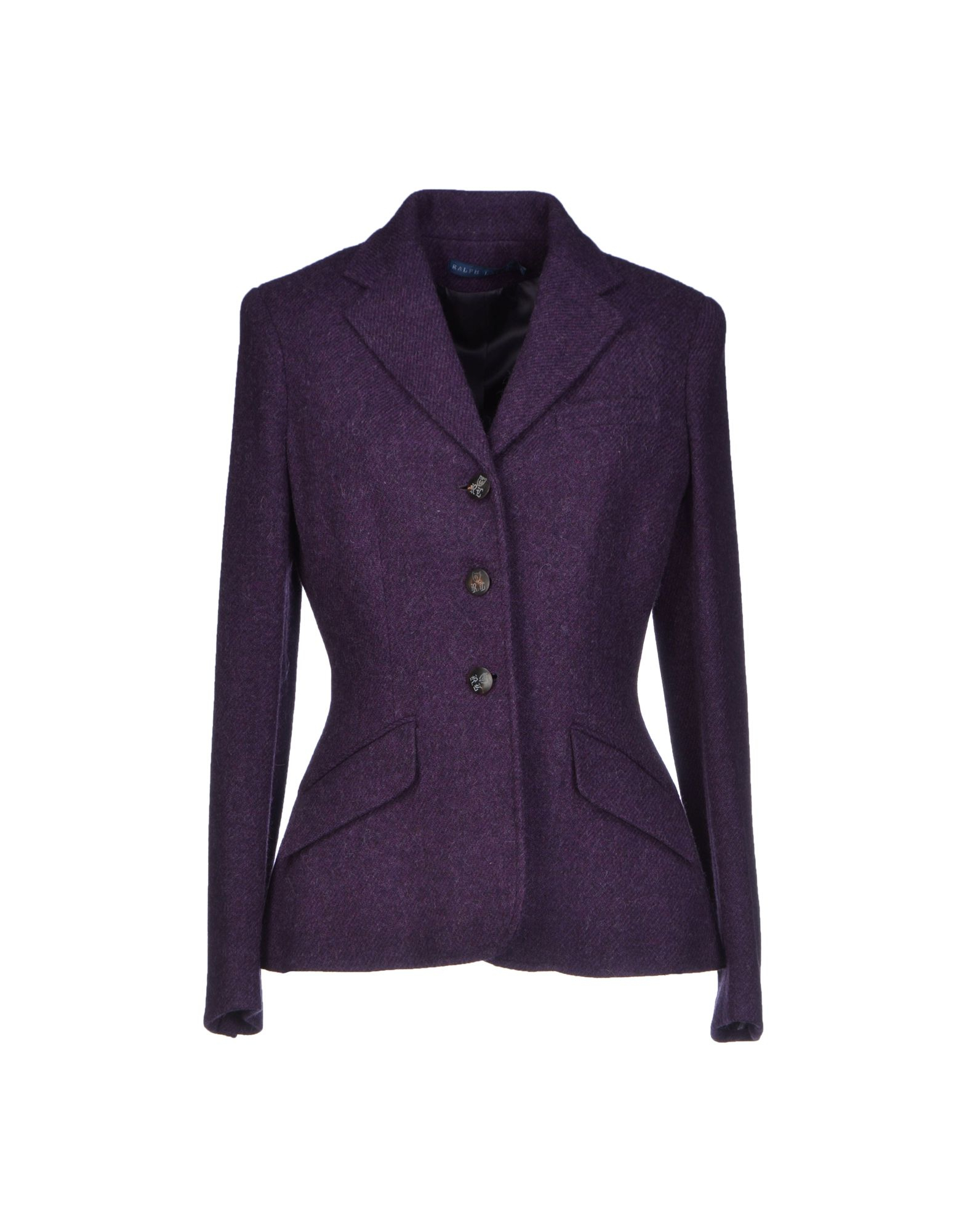 ralph lauren blazer in purple lyst. Black Bedroom Furniture Sets. Home Design Ideas