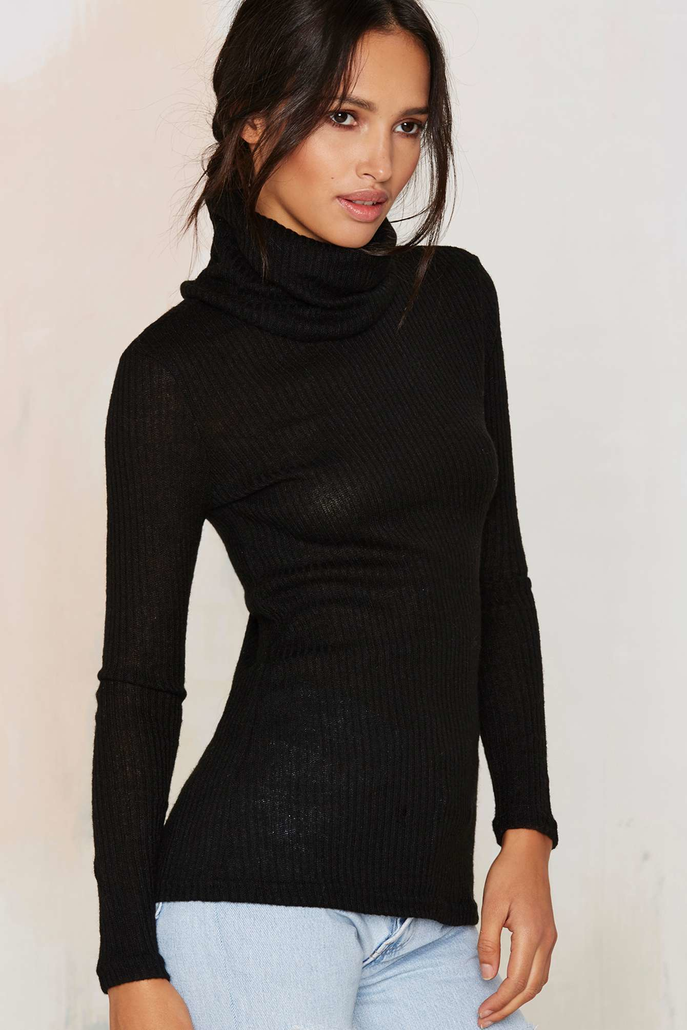 100  [ Ribbed Turtleneck Sweater ] | Cheap Ribbed Turtleneck ...