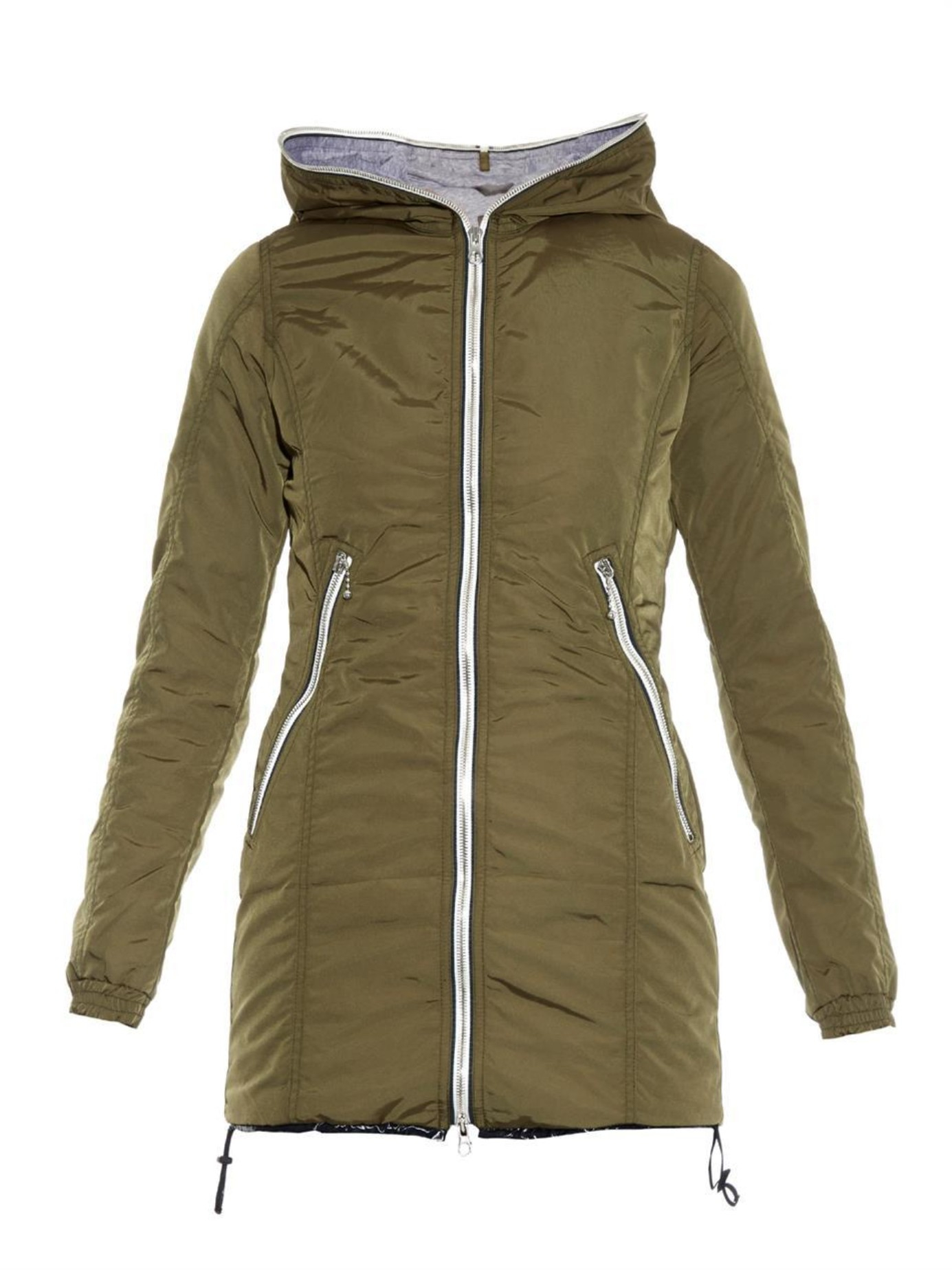 Lyst Duvetica Aceso Quilted Down Jacket In Green