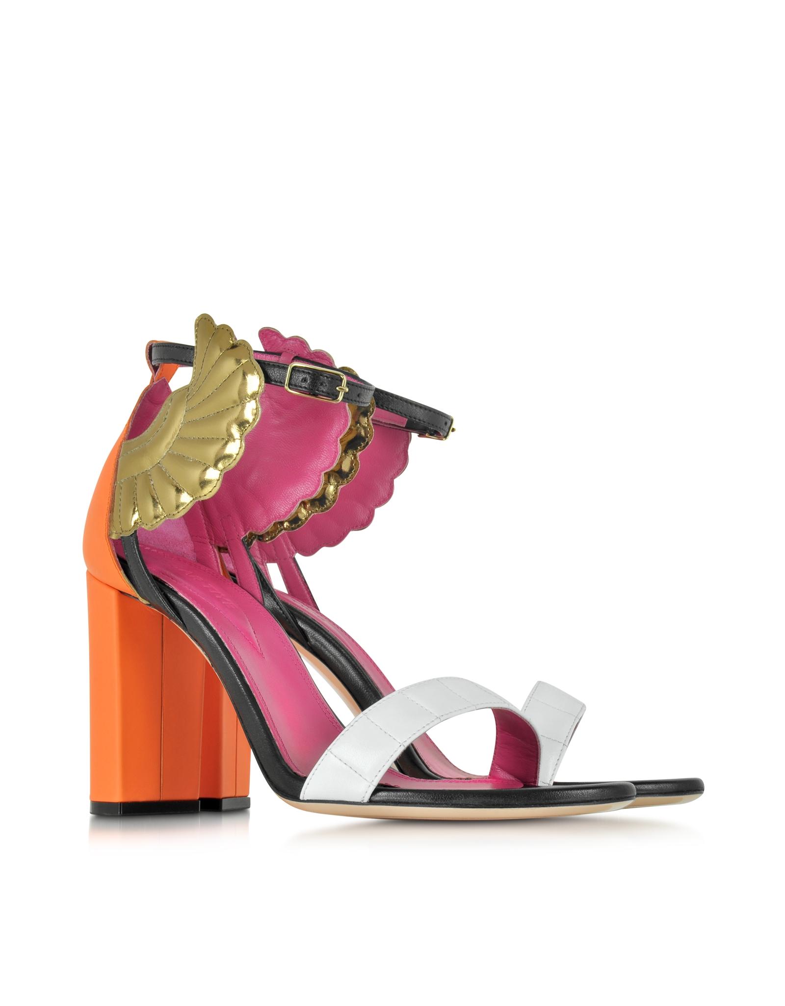 colour-block sandals - Multicolour Oscar Tiye 67o7GhFL