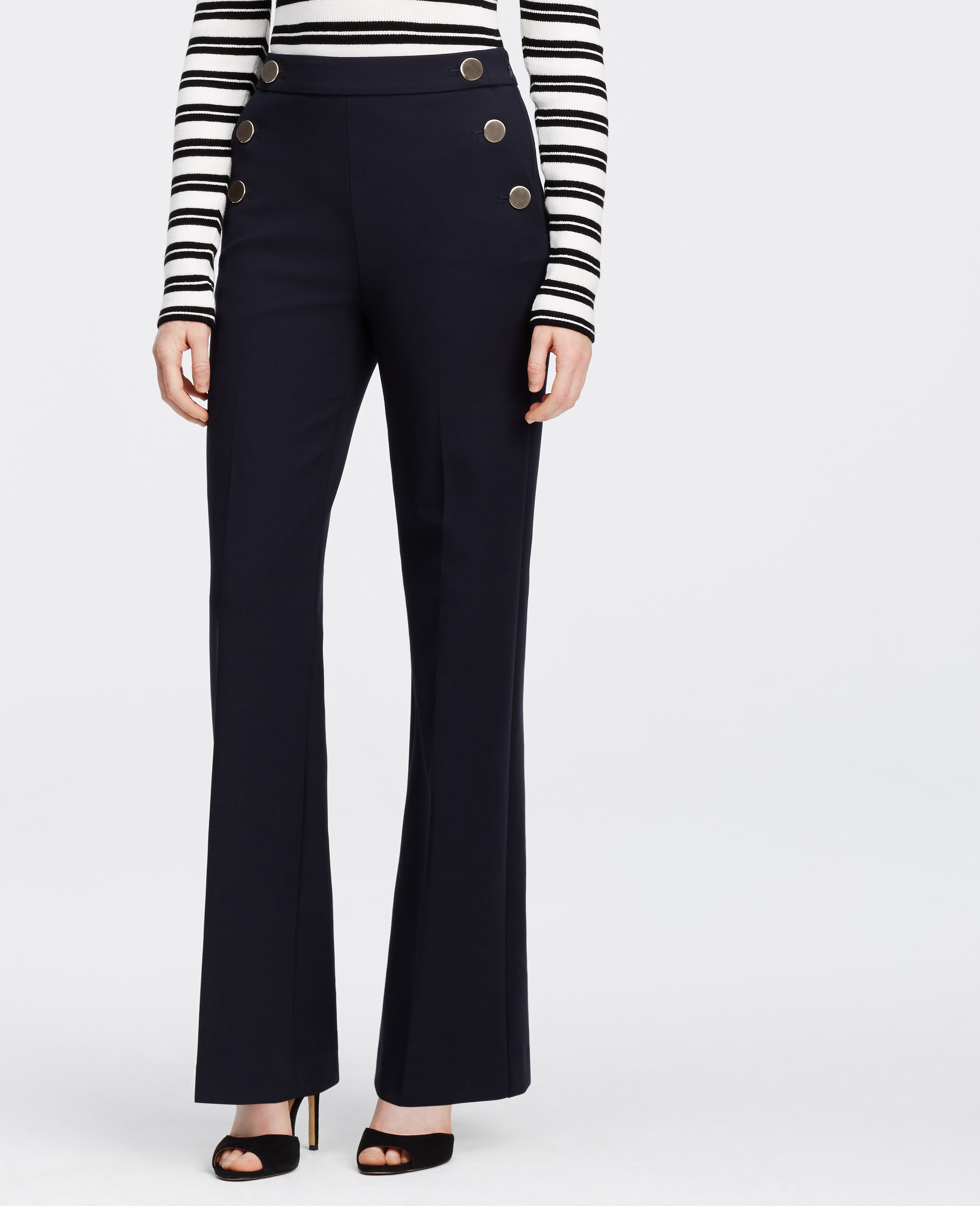 Popular Lyst - Ann Taylor Sailor Pants in Blue LF84